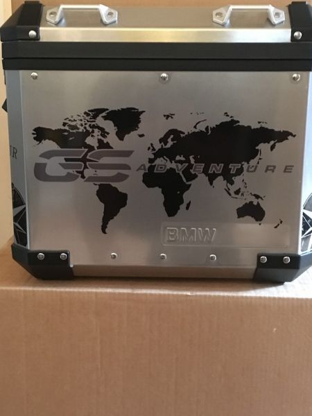R1200 Gs Adventure Lc Printed On Clear Top Box Wrap Kit