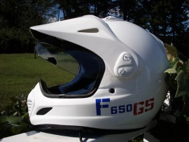 F 650 Helmet Sticker