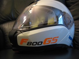 F800GS helmet sticker