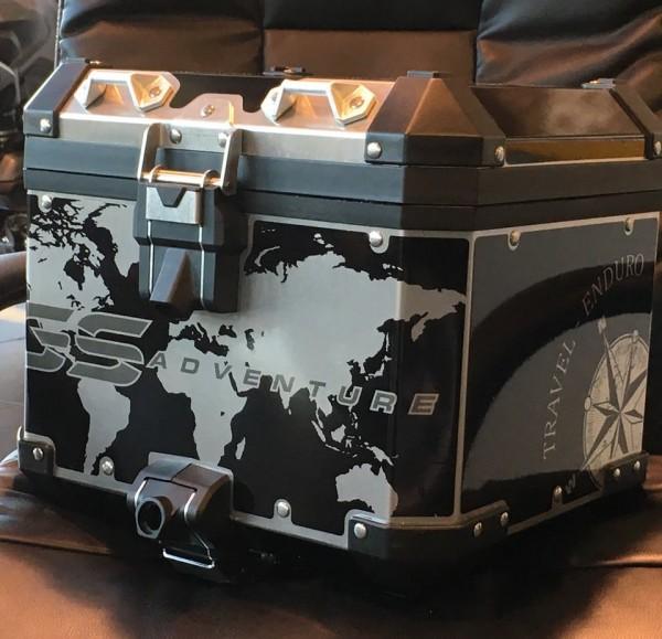 R1200 GS Adventure LC Printed Black Top Box wrap ki ...