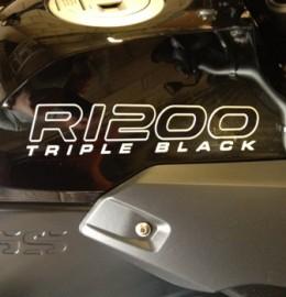 TRIPLE BLACK GS ADV