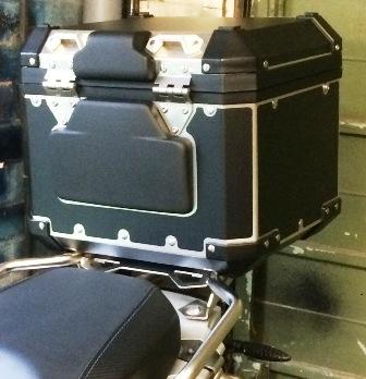 R1200 GS Adventure Black Top Box wrap kit - Humvee Graphics