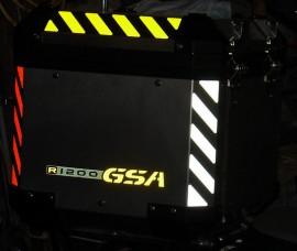 R 1200 GSA Pannier Chevrons> 13