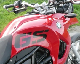 F650GS (twin) Large GS letters