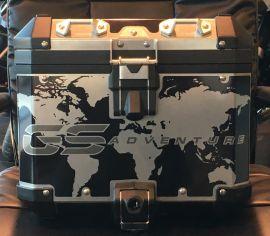 R1200 & R1250 GS Adventure LC Printed Black Top Box wrap ki